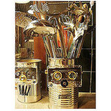 Mr. Roboto Utensil Holders: Geeky Green
