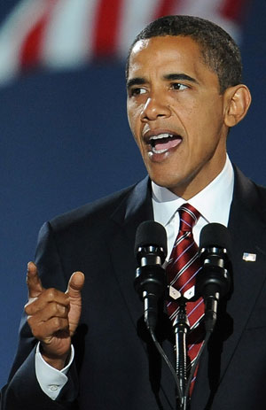 President-Elect Barack Obama Promises: Yes We Can