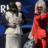 McCain and Sarah Share Full Body Hug