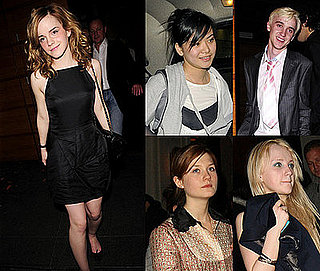 Emma Watson's 18th Birthday Party with Harry Potter co-stars Bonnie Wright, Katie Leung, Tom Felton and Evanna Lynch