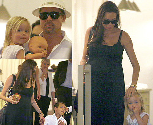 Extensive Gallery Of Shiloh, Maddox, Angelina Jolie and Brad Pitt Out Shopping In Cannes