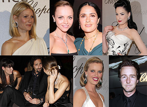 Gallery Of Gwyneth Paltrow, Christina Ricci, Salma Hayek And More Attending The Chopard Party At Cannes 2008.