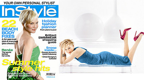 Renee Zellweger On The Cover Of InStyle Magazine