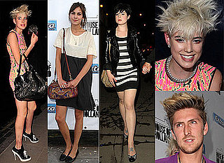 Alex Turner, Alexa Chung, Agyness Deyn, Kelly Osbourne and Luke Worrell Attend Henry Holland's Party In Shoreditch