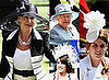 Dame Helen Mirren Meets the Queen at Ladies Day at Royal Ascot