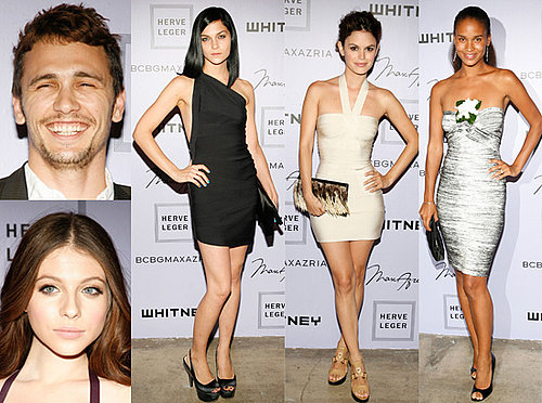 Rachel Bilson, Leigh Lezark, James Franco and Joy Bryant at the Whitney Museum's Art Party