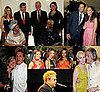 Photos of Gordon Ramsay, Annie Lennox, Sugababes, Will Smith, Leona Lewis at Nelson Mandela's 90th Birthday Party