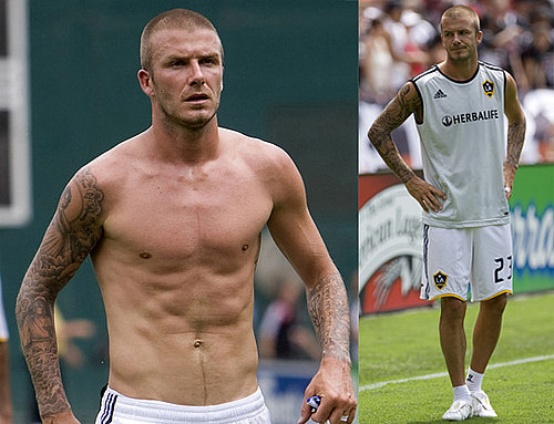 Photos Of David Beckham Playing with LA Galaxy