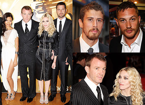 Photos Of Madonna, Guy Ritchie, Thandie Newton, Gerard Butler, Tom Hardy And Toby Kebbell At RocknRolla World Premiere
