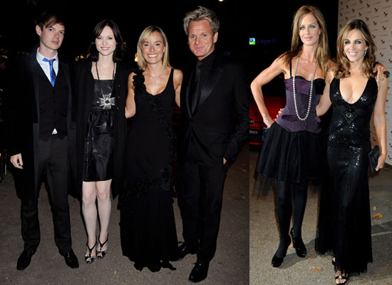 Photo Gallery Of Gordon Ramsay, Tana Ramsay, Richard Jones, Sophie Ellis-Bextor, Elizabeth Hurley And Trinny Woodall
