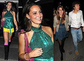 Photos Of Kate Middleton At Day-Glo Roller Disco