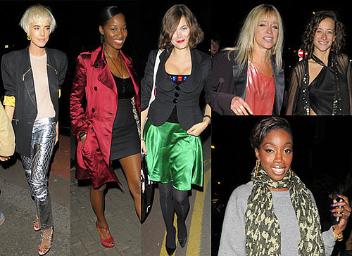 Photos Of Agyness Deyn, Jamelia, Jasmine Guinness, Jo Wood, Leah Wood, Estelle At Swarovski Party