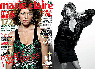 Extracts From Jessica Biel's Interview In Marie Claire UK December 2008 Christmas Issue