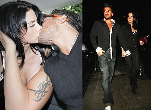 Photos of Jordan a.k.a. Katie Price Kissing Peter Andre in LA
