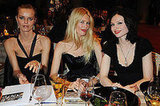 Photos of Eva Herzigova, Claudia Schiffer, Sophie Ellis-Bextor at Vivienne Westwood's Gold Label Collection