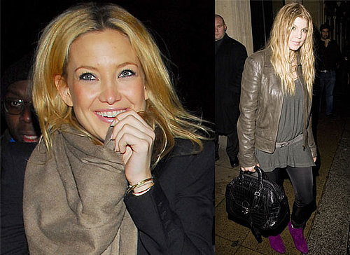 "Photos Of Kate Hudson And Stacy Ferguson aka Fergie Out In London After Finishing Filming ""Nine"""