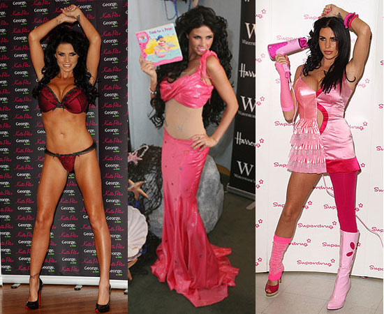 Photos of Jordan aka Katie Price Throughout 2008