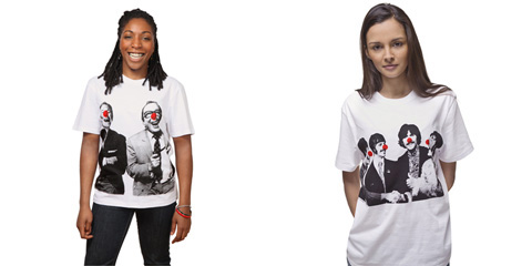 Stella McCartney Designs T-shirt for Comic Relief
