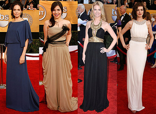 Grecian Dresses at Screen Actors Guild Awards 2009