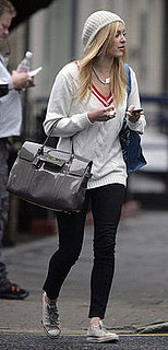 Fearne Cotton Shows off her Mulberry Bayswater