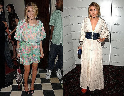 Mary Kate Olsen Wears Two Outfits to The Wackness Screening