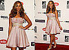 Leona Lewis in Pink Prom Dress at MTV Europe Awards 2008 in Liverpool