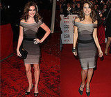 Photos of Kelly Brook and Rachel Stevens in Herve Leger Ombre Bandage Dress