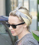 Photo of Kylie Minogue in Hair Trend Headscarf