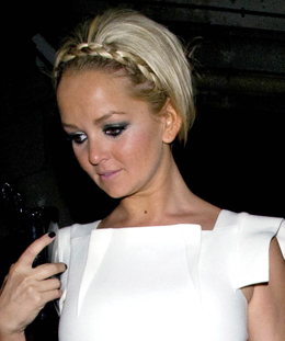 Photo of Jennifer Ellison with Plait Hair Style Catwalk Beauty Celebrity trend: Jessica Simpson, Nicole Richie. Expert Tips.