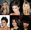 Photos of Kate Moss, Lily Allen, Peaches Geldof, Alexa Chung, Daisy Lowe and Victoria Beckham. London Fashion Week 2008