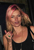 Photo of Kate Moss With Latest New Hair Style Pink Hair. Love or Hate It?