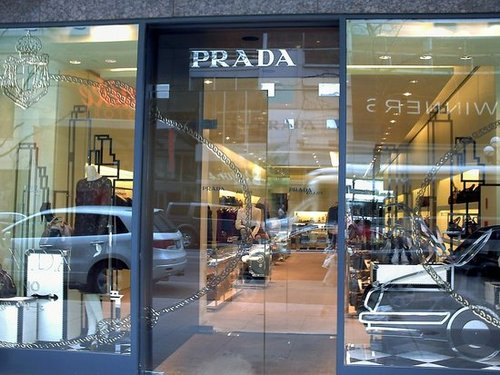 Shopping in Toronto on Bloor Street ...Prada, Gucci, Channel, Hermes,  Holt Renfrew, Vuitton....