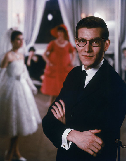 1965: Yves Saint Laurent.