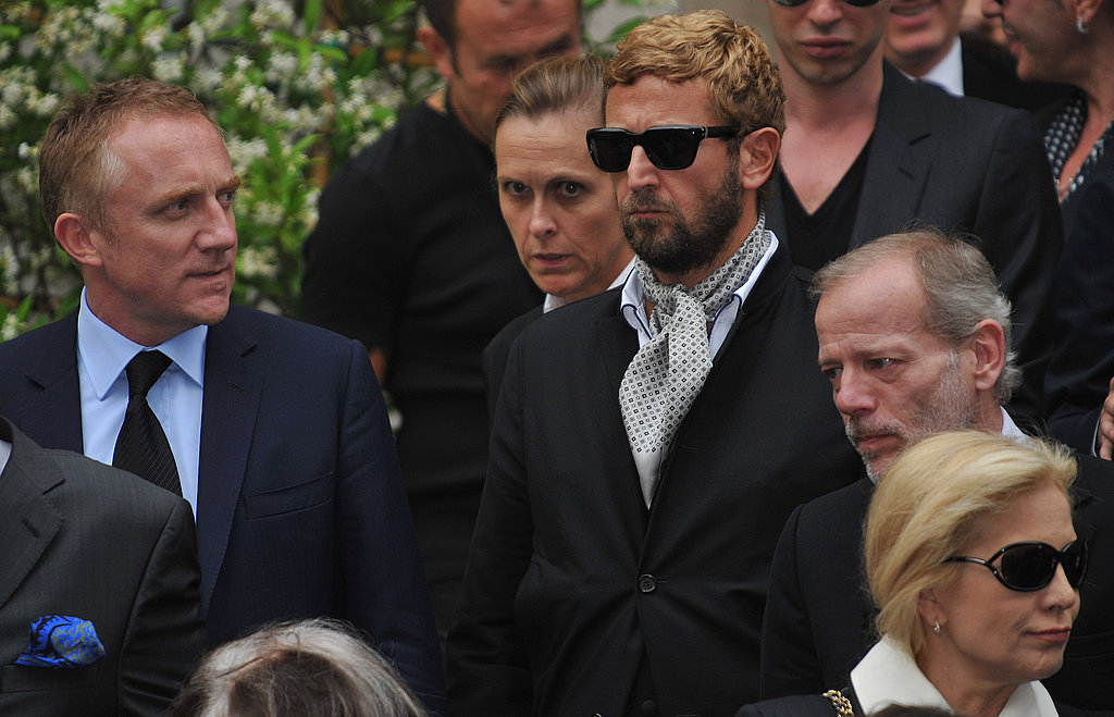PPR CEO (and owner of YSL) Francois-Henri Pinault with Stefano Pilati.