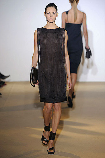 Raf Simons Sees the Benefits of Fringe for Jil Sander Spring 2009