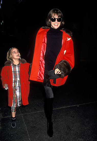 Nov. 1993: Taking daughter Bee Shaffer to the premiere of The Nutcracker.