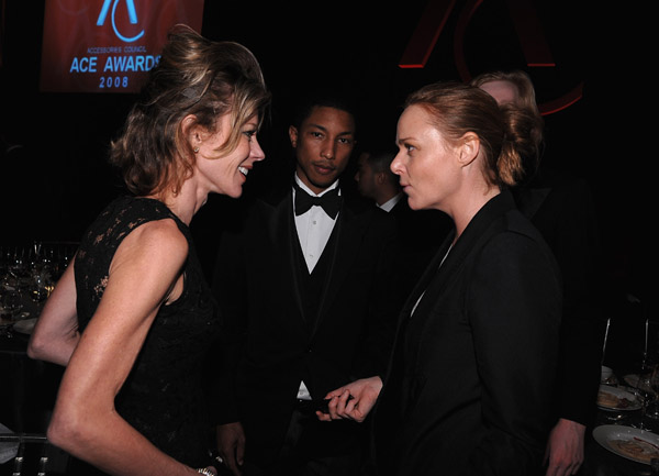 Roberta Myers, Pharrell Williams, Stella McCartney.