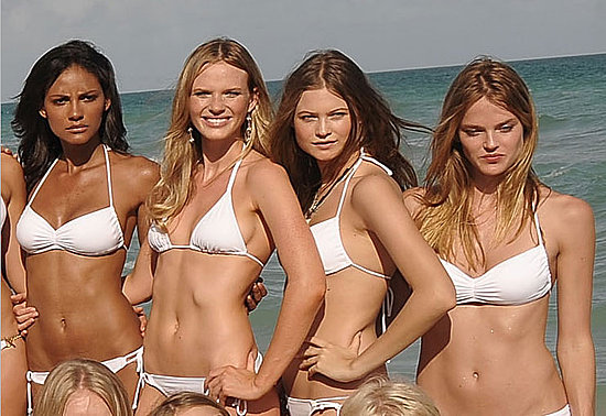 Emanuela de Paula, Anne Vyalitsyna, Behati Prinsloo, Shannan Click.