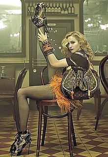 Madonna Works It for Louis Vuitton Spring 2009