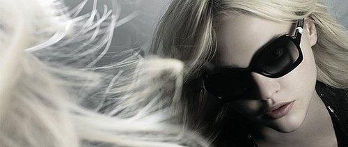 Chanel Eyewear SS 09: Sasha Pivovarova by Karl Lagerfeld