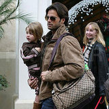 David Charvet Gets Last-Minute Gifts