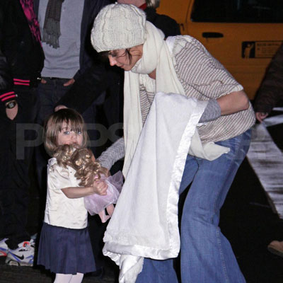 Katie and Suri Make a Move