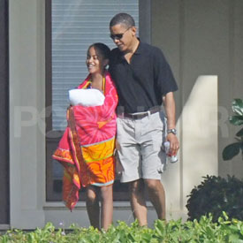 Barack Obama is a Father Elect