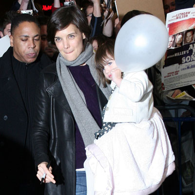 Katie and Suri Ring in 2009