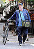 Phillip Seymour Hoffman With His Bike