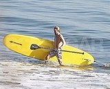 Owen Wilson SUPing