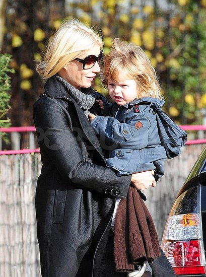 Gwyneth and Moses Mosey Along