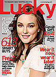 Blair on Cover of August Lucky
