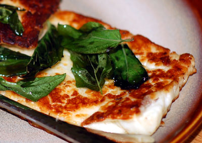 Grilled Haloumi with Oregano Oil