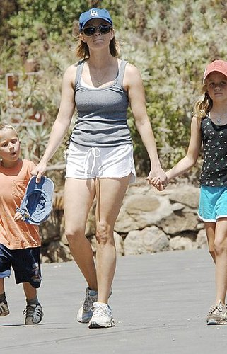Reese Out With Her Kids